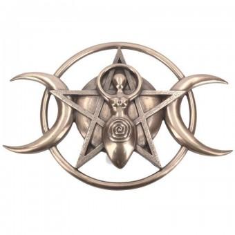 Nemesis Now-Triple Moon Goddess Plaque