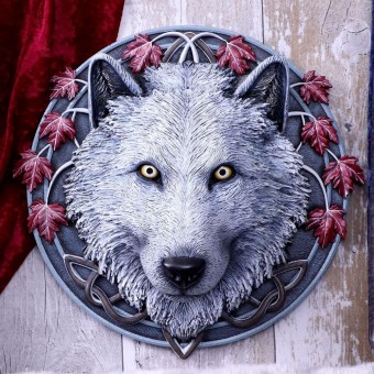Guardian of the Fall Wall Plaque
