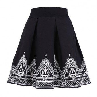 Restyle-Henna Moon Skirt