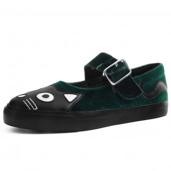 T.U.K. Footwear-Kitty Mary Jane Sneakers