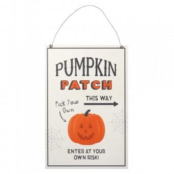 Phoenixx Rising-Pumpkin Picking Patch Sign