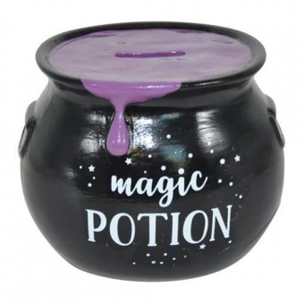 -Purple Magic Potion Money Bank