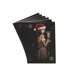 Alchemy Gothic-Gothic Lady Christmas Gift Tags