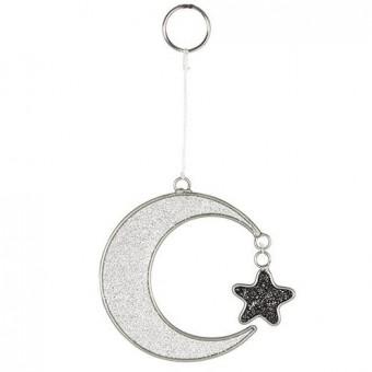 Phoenixx Rising-Crescent Moon Mini Mystical Suncatcher