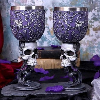 Death's Desire Twin Goblet Set