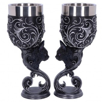 Nemesis Now-Familiars Love Twin Goblet Set