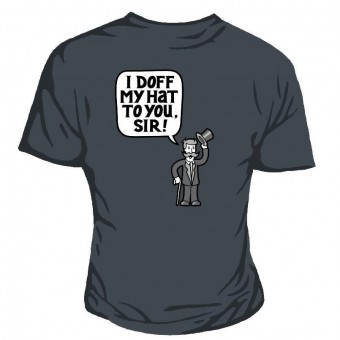 Genki Gear-I Doff My Hat T-shirt
