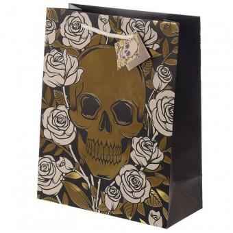 Phoenixx Rising-Skulls and Roses Large Gift Bag