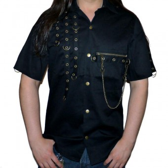 Phaze Clothing-Anarchy D-Ring Work Shirt