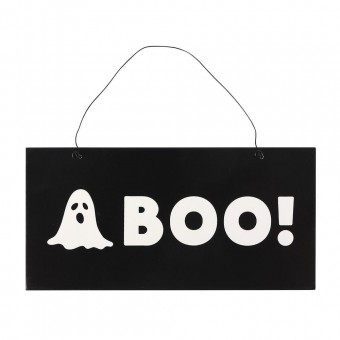 Phoenixx Rising-Boo Ghost Hanging Sign