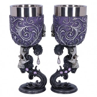 Nemesis Now-Deaths Desire Twin Goblet Set