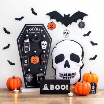 Boo Ghost Hanging Sign