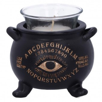 Nemesis Now-All Seeing Cauldron Candle Holder
