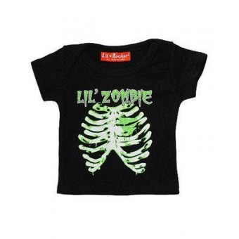 Darkside Clothing-Lil Zombie Ribs T-shirt