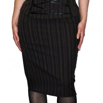 Phaze Clothing-Bitter Beauty Pencil Skirt