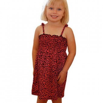 Darkside Clothing-Leopard Dress