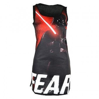 Phoenixx Rising-Darth Vader Long Vest
