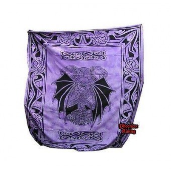 Cleo Gifts-Dragon Celtic Double Bedspread