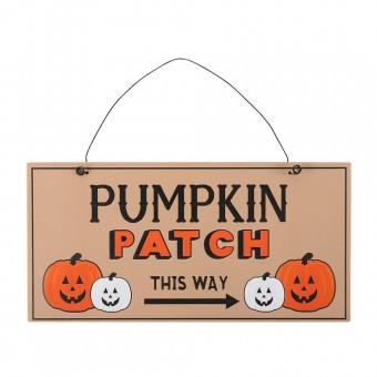 Phoenixx Rising-Pumpkin Patch Hanging Sign