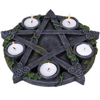 Nemesis Now-Pentagram Tea Light Candle Holder