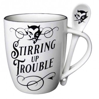Alchemy Gothic-Stirring Up Trouble Mug Set
