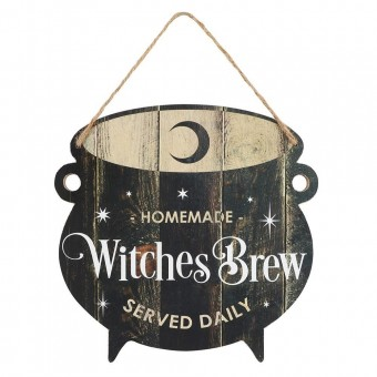 Phoenixx Rising-Witches Brew Cauldron Sign
