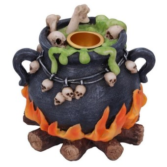 Nemesis Now-Bubbling Brew Incense Candle Holder