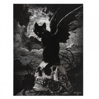 Alchemy Gothic-Nine Lives of Poe Canvas