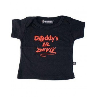 Darkside Clothing-Daddys Lil Devil T-shirt