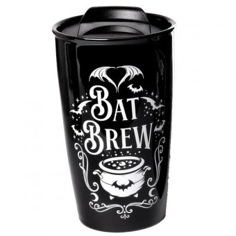 Bat Brew Travel Mug