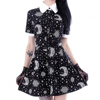 Restyle-Moon Hippie Dress