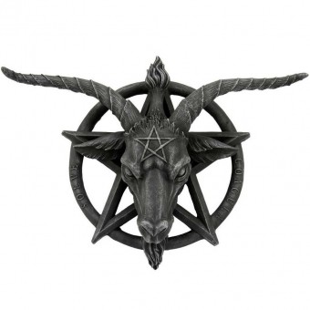-Baphomet Wall Plaque