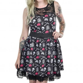 Too Fast-Ribcage Lace Dress