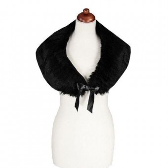Restyle-Ribbon Tie Shrug