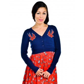 Swallows Anchors Cardigan