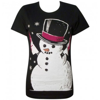 Akumu Ink-Killer Snow Man T-shirt