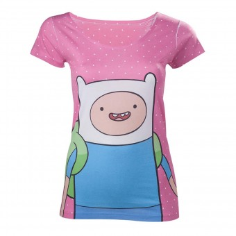 Adventure Time-Finn Polka T-Shirt