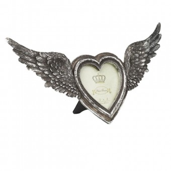 Alchemy Gothic-Winged Heart Photo Frame