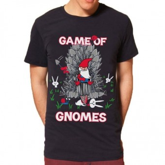 Flip Flop And Fangs-Game Of Gnomes T-shirt