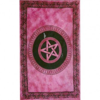 Cleo Gifts-Pentagram Single Bedspread