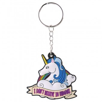 Puckator-Believe In Unicorns Keyring