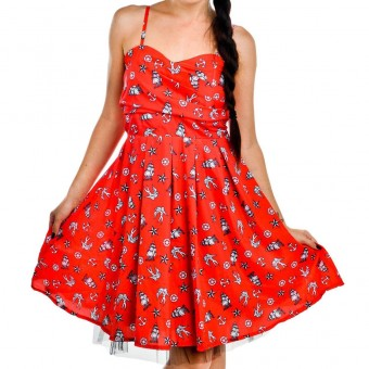 Too Fast-Ship And Anchor Dress