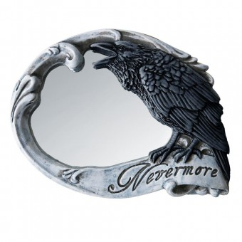 Alchemy Gothic-Nevermore Compact Mirror