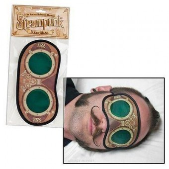 Archie McPhee-Steampunk Sleep Goggles Eye Mask