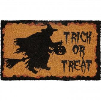 -Trick Or Treat Doormat
