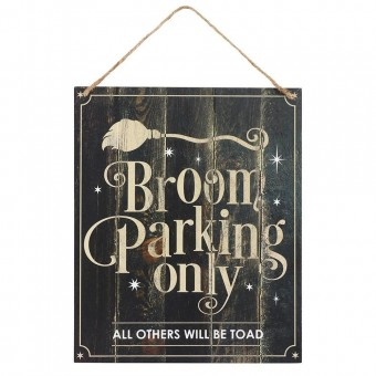 Phoenixx Rising-Broom Parking Only Sign