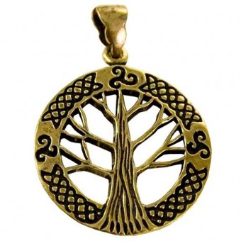 Tree Of Life Triskele Pendant