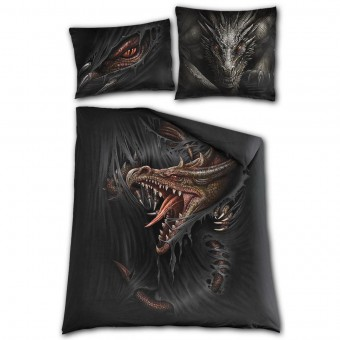 Spiral Direct-Majestic Draco Double Bedding Set