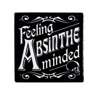 Alchemy Gothic-Feeling Absinthe Minded Coaster