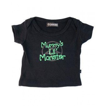 Darkside Clothing-Mummys Lil Monster T-shirt